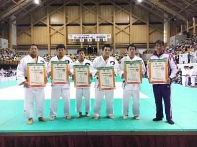 平成29年度国民体育大会柔道競技少年男子結果について