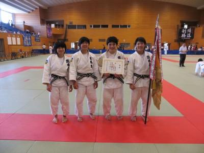 平成27年度熊本県高校総体柔道競技女子団体結果