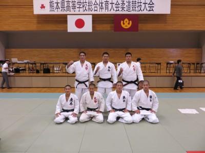平成27年度熊本県高校総体柔道競技男子個人結果