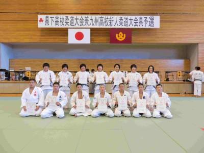 平成27年度熊本県下高校柔道大会個人結果について