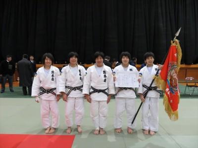 平成27年度熊本県高校新人柔道大会団体結果について