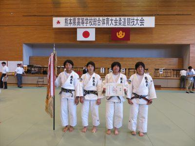平成28年度熊本県高校総合体育大会柔道競技女子団体結果