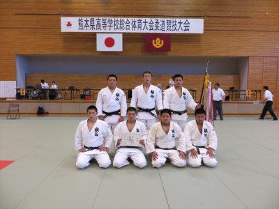 平成28年度熊本県高校総合体育大会柔道競技男子団体女子個人結果