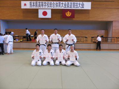 平成28年度熊本県高校総合体育大会柔道競技男子個人結果