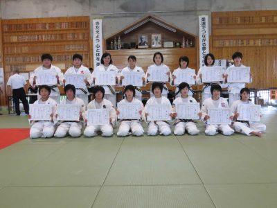平成28年度全日本ジュニア体重別柔道大会熊本県予選結果について
