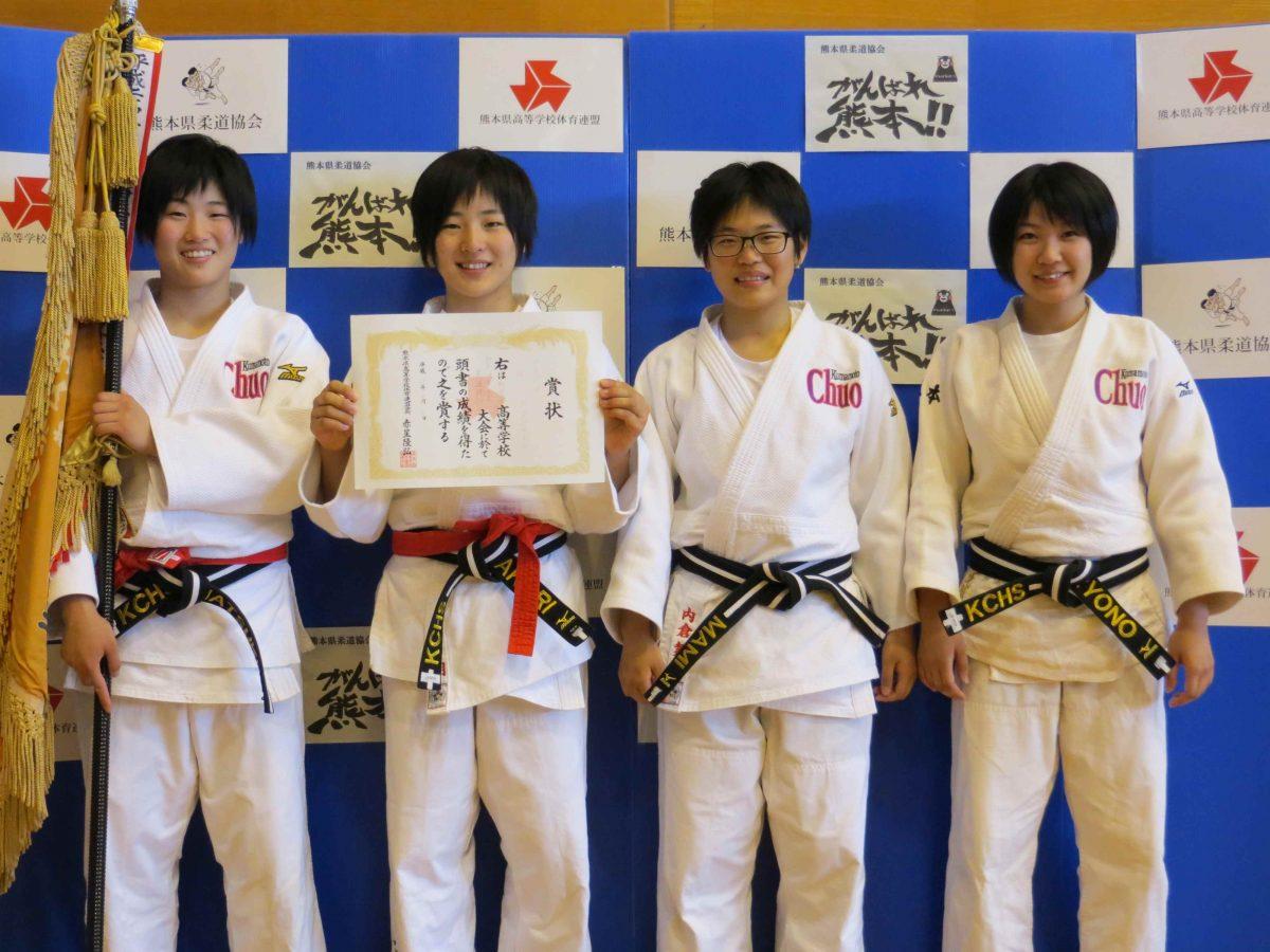 平成29年度熊本県高校総体女子団体結果について