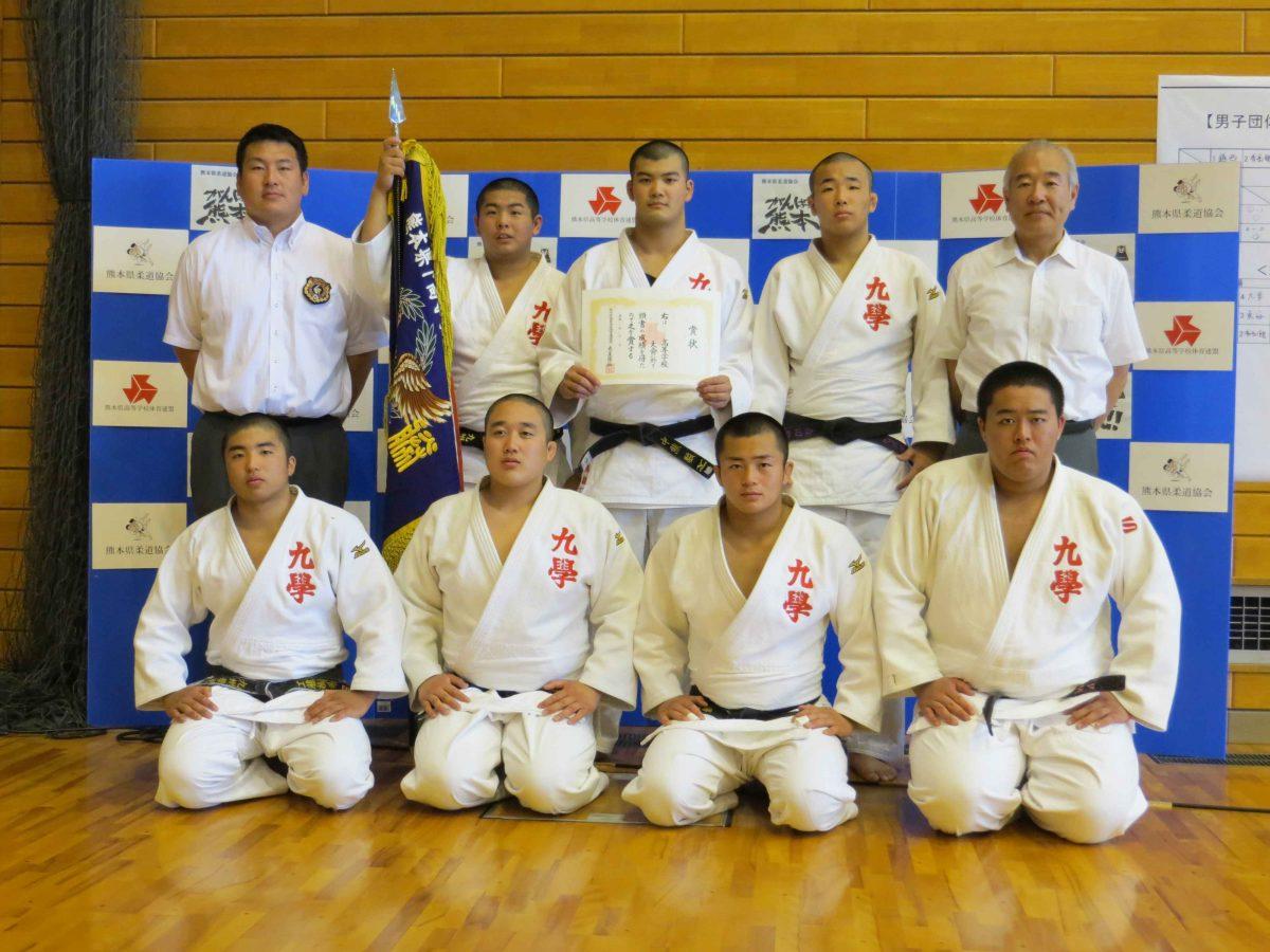 平成29年度熊本県高校総体男子団体及び女子個人結果について