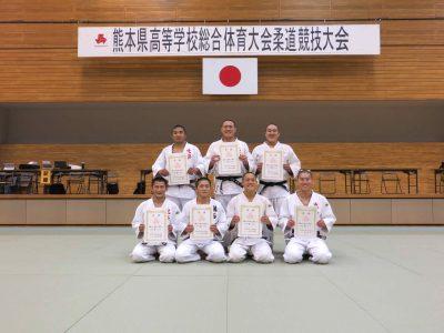 平成30年度熊本県高等学校総合体育大会柔道競技男子個人について