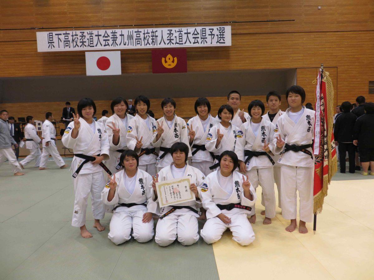 平成30年度県下高校柔道大会団体競技結果について